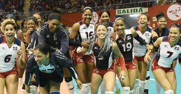 Voleibol RD se impone a Puerto Rico y avanza a la final