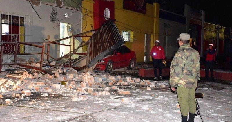 Otro sismo, este de magnitud 6.2, sacude a México