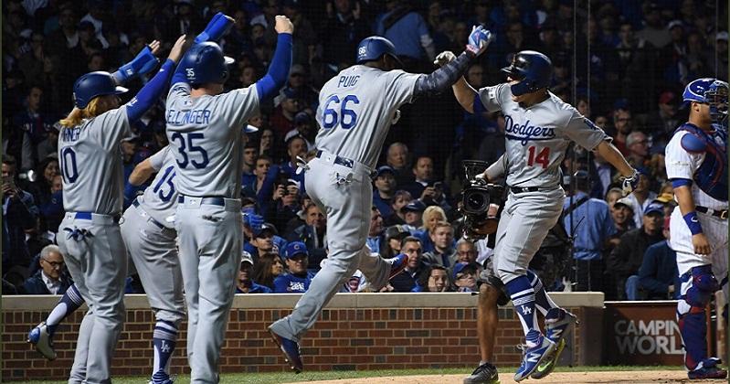 Dodgers avanzan a la Serie Mundial de las Grandes Ligas